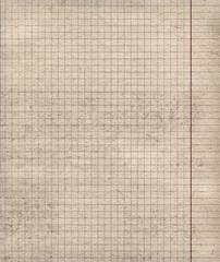 Math paper sheet background