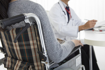 Patients of wheelchair