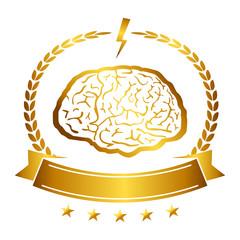 Vector illustration of brain designs iconic, ideas, memory