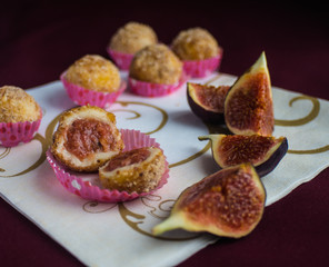 candy from figs and chocolate