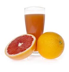 oranges and juice