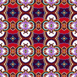 seamless geometry violet colour vintage pattern