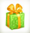 Gift, vector icon