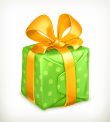Gift, vector icon