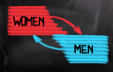 Men Women Concept