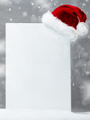 Background for christmas with mitre