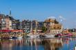 canvas print picture - Honfleu Vieux Bassin - Lieutenance 24_