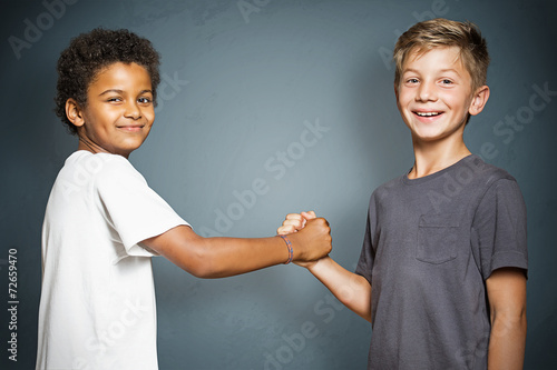 canvas print picture Best Friends