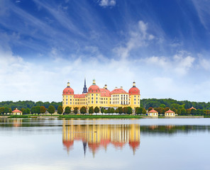 Moritzburg Castle near Dresden, Germany
