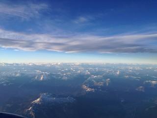 paesaggio dall ' aereo
