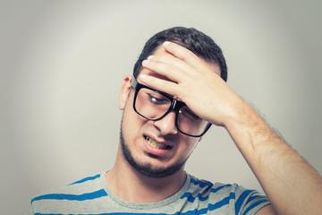Males sore headache