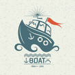 Brave small boat - 72665669
