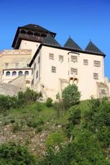 Trencin Castle in Slovakia