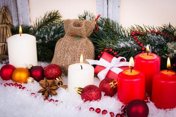 romantische weihnachtsdeko