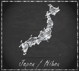 Karte von Japan