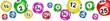 Bannière boules de loto
