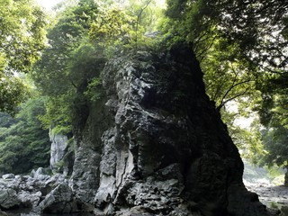 제주 안덕 계곡