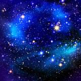 Night sky and stars. - 72668838
