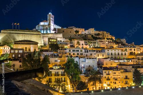 fototapeta na ścianę Ibiza Stare Miasto darta Vila