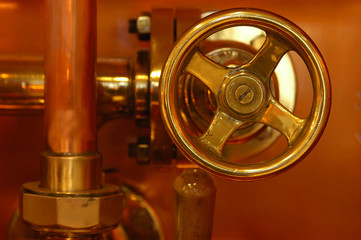 copper deatail of brewery technology control