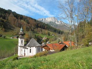 dorfidylle in berchtesgaden