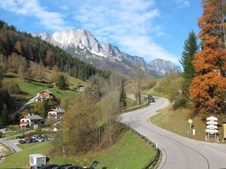 bergstrasse in berchtesgaden