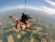 lancio con paracadute e GOPRO - 72670408