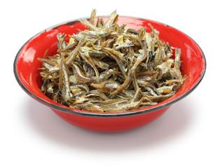 fried ikan bilis(dried anchovies) , malaysian food