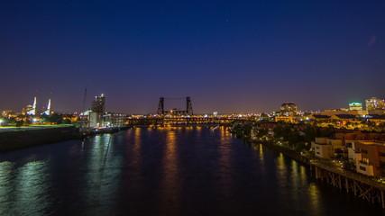 Portland Steel Bridge Night 552