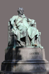 Goethe monument in Vienna