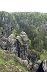 Elbsandsteingebirge, Elbe, Fluss, Sandstein,