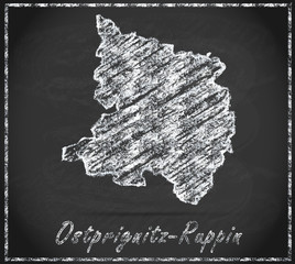 Karte von Ostprignitz-Ruppin