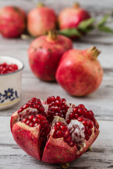 Juicy Pomegranates