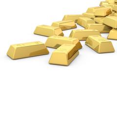 Goldbarren Szene