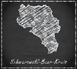 Karte von Schwarzwald-Baar-Kreis