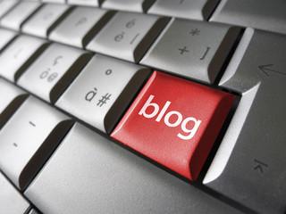 Blog Key Web Concept