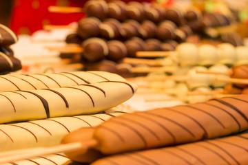 Schokobananen und andere Süßigkeiten