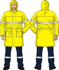 Raincoat alarm
