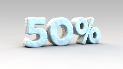 50% winter sale