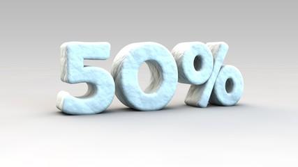 50% winter sale
