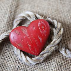 coeur de Valentin et lien d'union