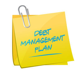 debt management plan memo post