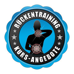 rtk3 RueckenTrainingKurs - fnb - Rückentraining - blau g2441