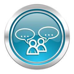 forum icon, chat symbol
