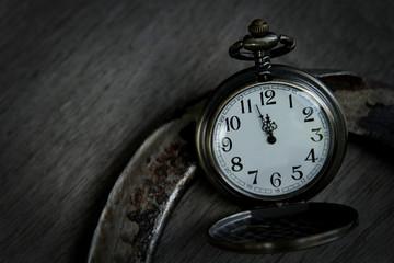 Antike Uhr ©yvonneweis