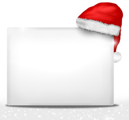 Christmas white board design