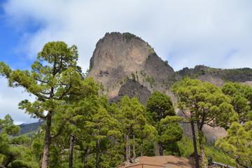 Caldera de Taburiente in La Palma, Canary islands, Spain.