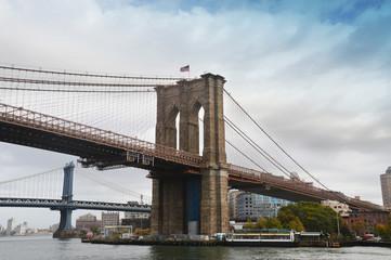 Pont de Brooklyn à New-York - USA