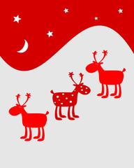 Renne natalizie