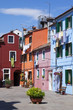 Vertical view of Burano